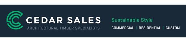 Cedar Sales